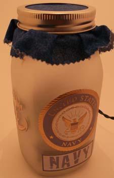 navy jar